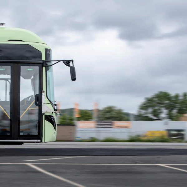Drive Sweden: Autonomous City Bus